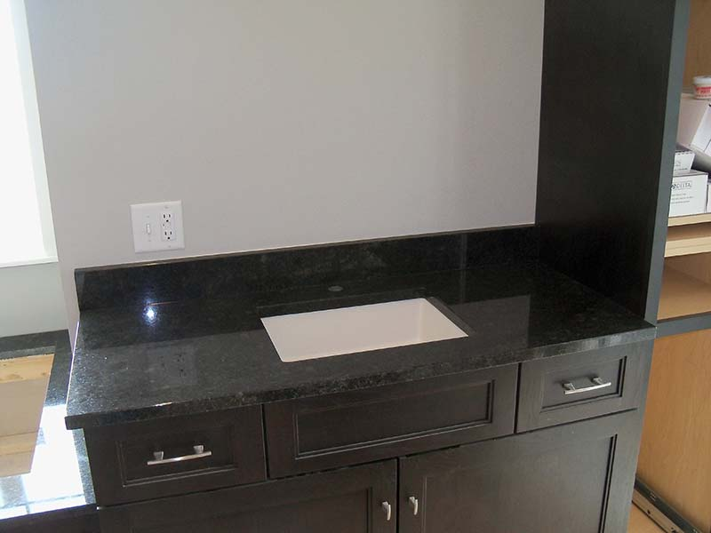 Black Coffee Granite (black, brown and greys)