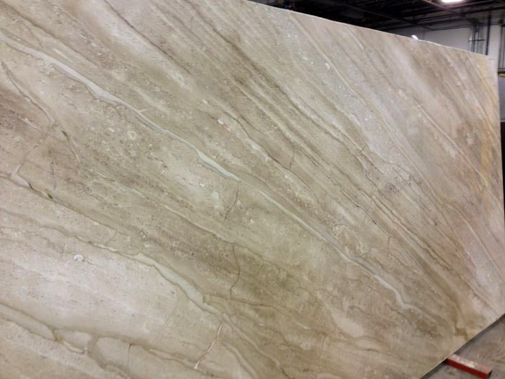 Polished Daino Reale Marble slab